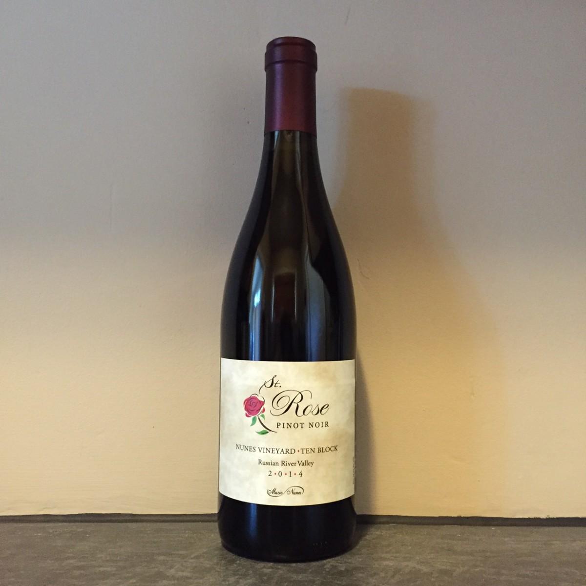 Saint Rose 2014 Ten Block Russian River Pinot Noir
